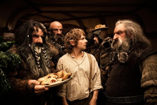Bilbo and the Dwarves