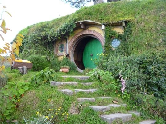 Bilbo Baggin's hobbit hole