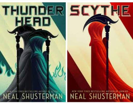 Scythe and Thunderhead by Neal Shusterman